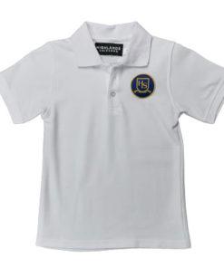 Boys Polo with HLS Crest
