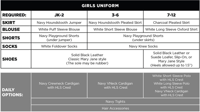 HLS Orlando Uniform Code